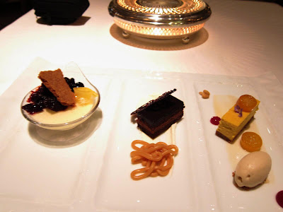 Dessert Trio at Michael Mina