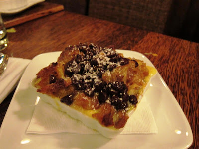 Bread Pudding at Willi's Raw Bar Healdsburg