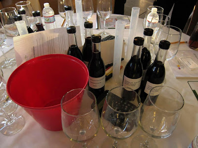 Wine blending at Sonoma County