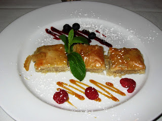 Baklava at Arya