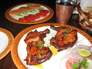 Tandoori Chicken at Baluchi