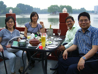 Dinner at Houhai Lake