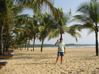 The Beach, Leela Goa