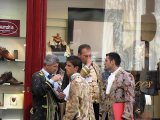 Baroque costumes in Vienna