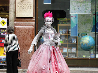 Street Performer in Vienna