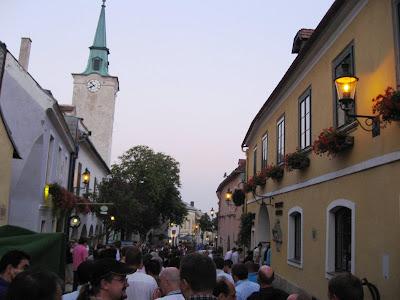 Heurigan in Benediktinerhof