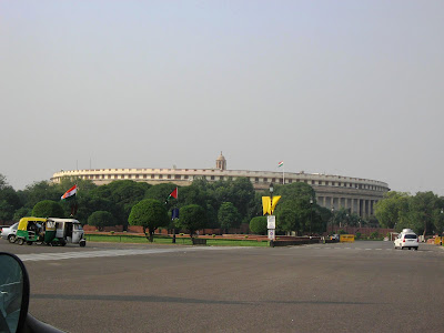 Parliament Building New Delhi
