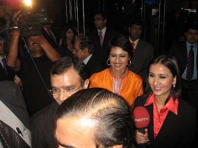 NDTV Journalists with Ambani