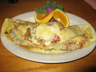 Crepes at Petunia's