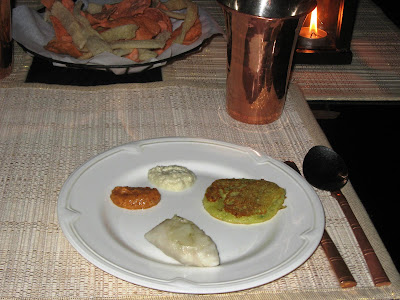 Starters at The Raintree, Taj Connemara