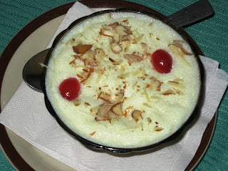 Phirni at Wazwan