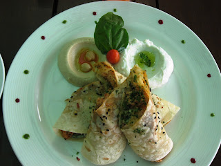 Chicken Sawarma at Laguna