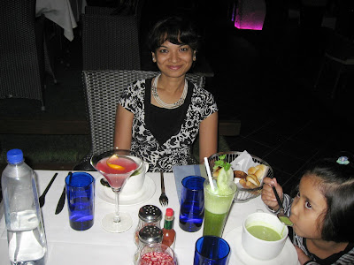 Dining at Laguna Pune