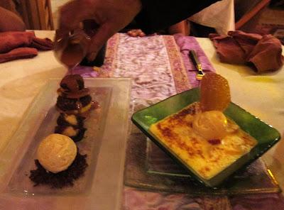 Desserts at Al Barakat