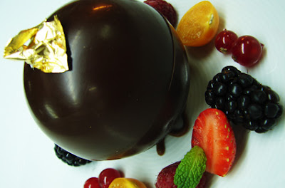 Valrhona Chocolate Sphere at Burj Al Arab