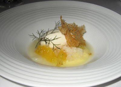 Exotic Citrus Dessert at Manresa