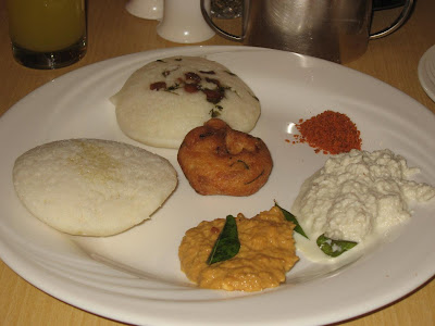 Breakfast in Chennai