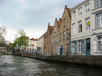 Bruges from the canals