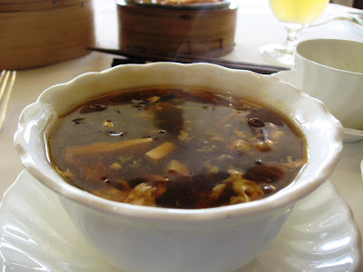 Hot and Sour Soup at Taipan Oberoi New Delhi