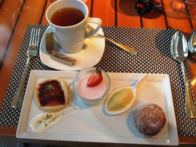 Dessert Sampler at Quattro