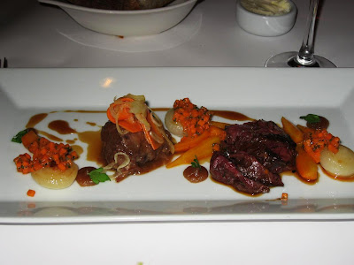 Duo of Niman Ranch Beef at Cortez