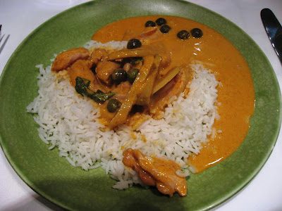 Thai Red Curry at India Jones