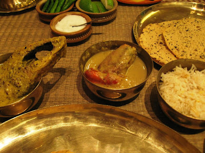 Ilish Bhapa at Aaheli Kolkata