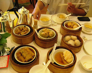Yum cha at Maxim's