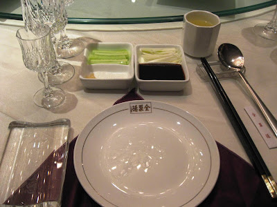 Ready for Peking Duck at Quanjude Beijing
