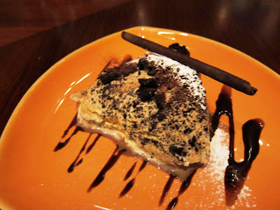 Chocolate Ice Cream 'Mud Pie' at Prego Pune