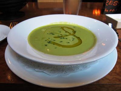 Soup de Jour at Chez Papa Resto