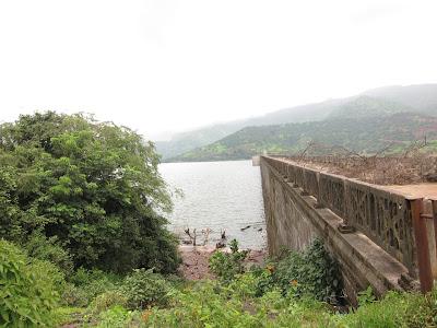 Tamshet dam