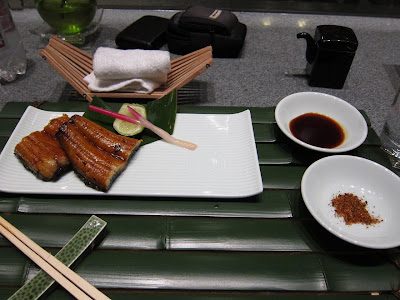 Unagi robatayagi at Edo in Bangalore