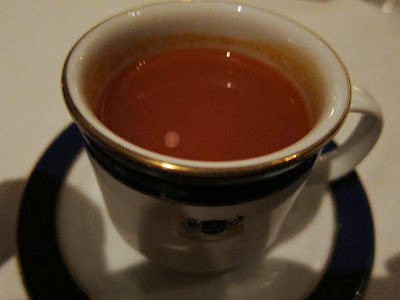 A cup of rasam at Esphahan