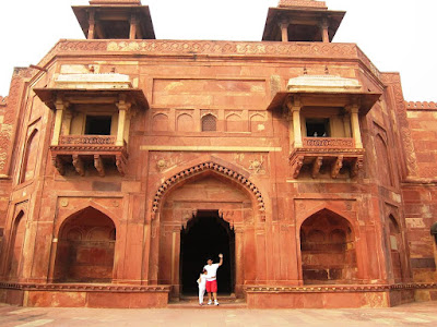 Jodha Bai's palace at Fatehpur Sikhri