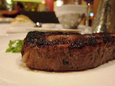 New York Strip at Lark Creek Steak