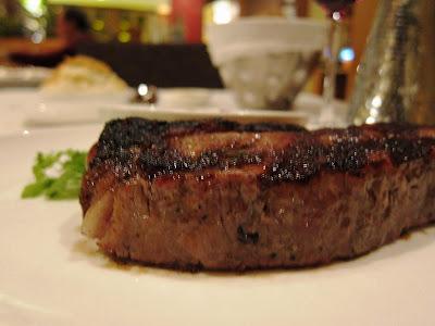 New York Strip at Lark Creek Steak