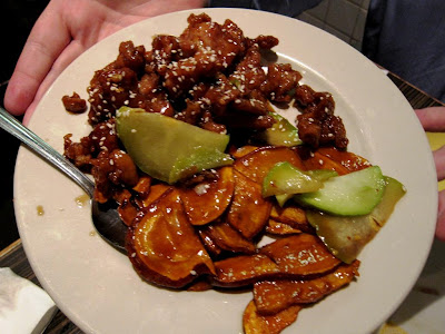 Sesame Chicken at House of Nanking