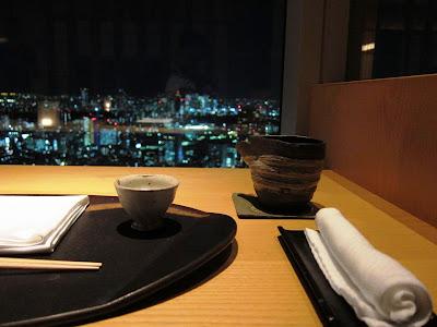 Kaiseki at Hinokizaka Tokyo