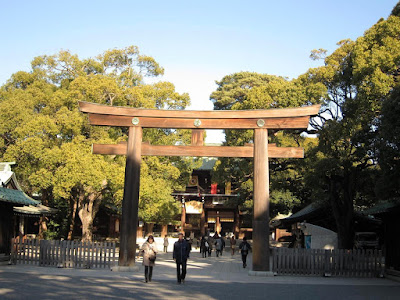 Meiju Jingu shrine in Tokyo