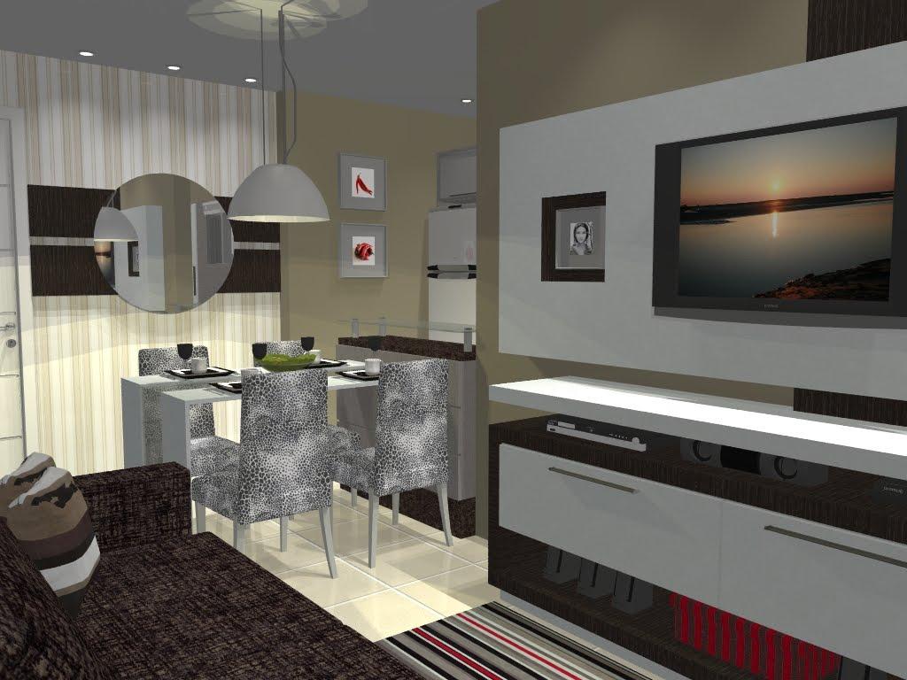 projeto de interiores de um apartamento pequeno incluindo sala cozinha #857D46 1024 768