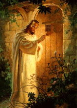 """Behold I stand at the door and knock"""