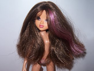 how to fix cut doll hair