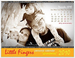 LITTLE FINGERS Personal Calendar Giveaway 2010