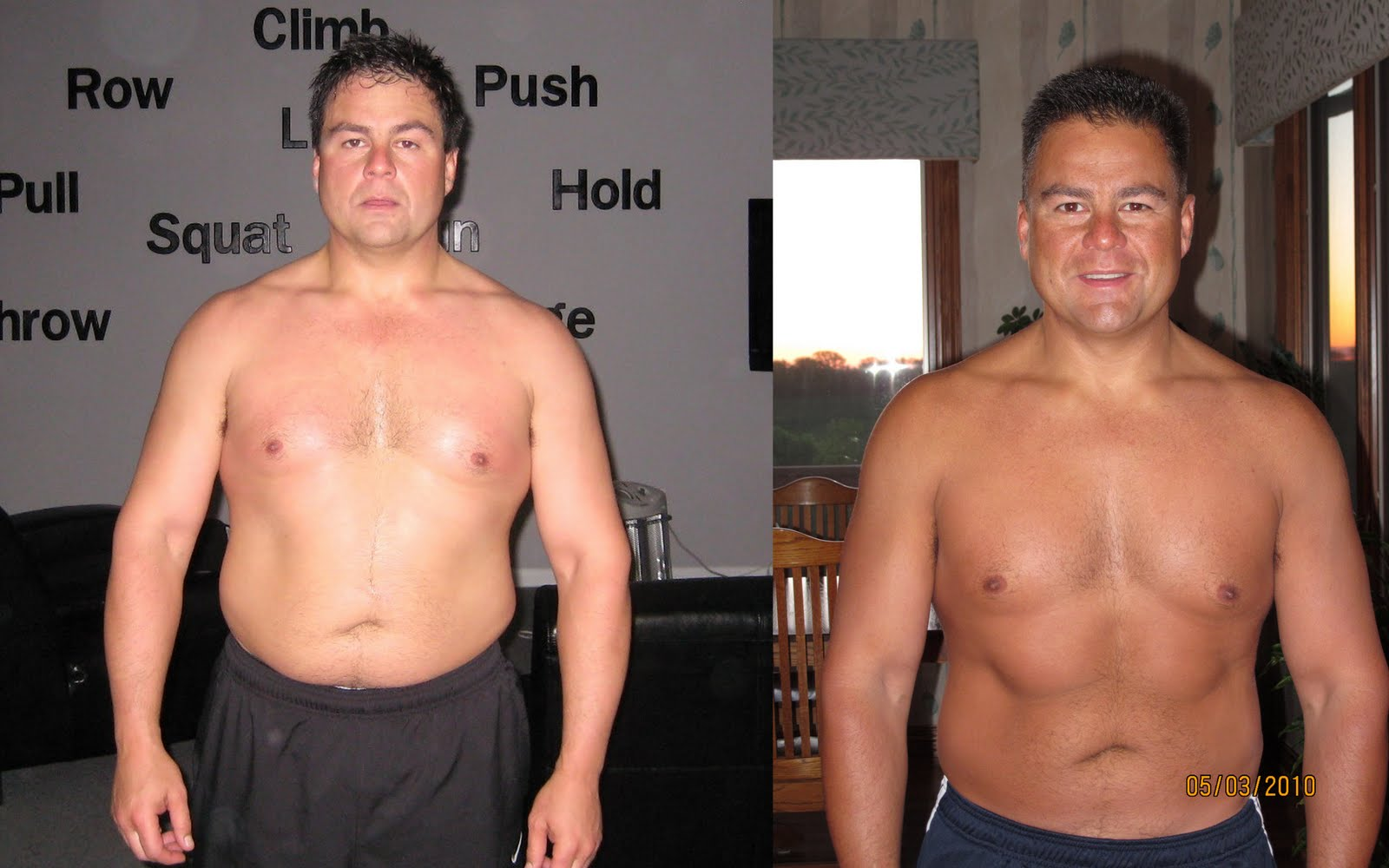 Crossfit results before and after