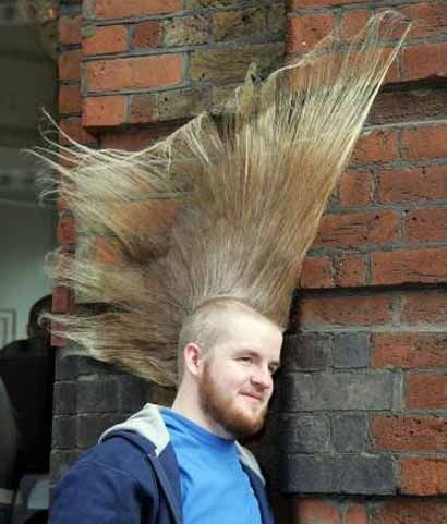 Strange Hair Style