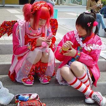 Harajuku Fashion Blog on Ree Rurii Blog  Harajuku Style In Anime