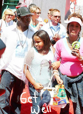 Bobby Brown Whitney Houston and Daughter Bobbi Kristina picture