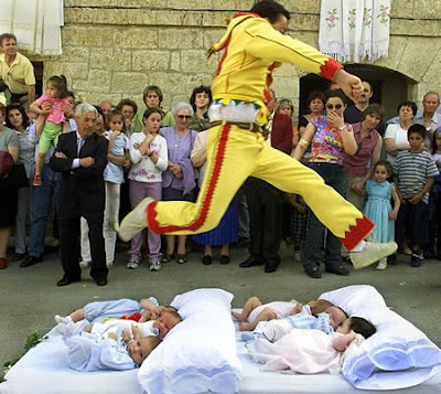 Colacho the Baby Jumping Festival (Spain) 01