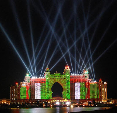 Hotel Atlantis Lightshow Trial Run 04